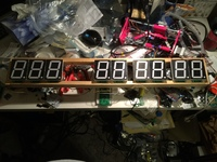 Countdown clock, made with DigitNet2 boards